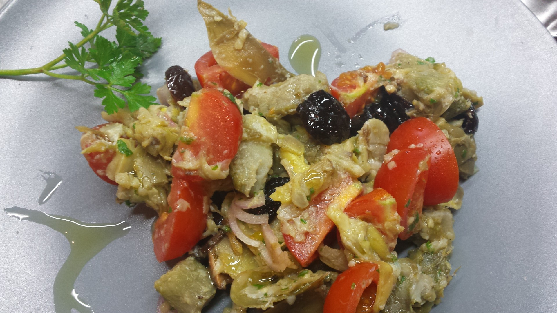 Artichokes salad