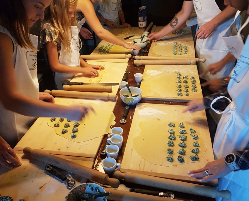 cooking class experience in Lucca Tuscany